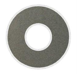 """Электрод для электрофореза одноразовый """"Грудной"""" для молочных желез, кольцо Ø160мм. с отверстием Ø50мм. (180 кв. см) Цена за упаковку. Упаковка 25 шт. Под зажим «крокодил» - фото 5446"""
