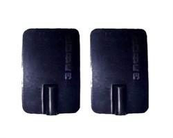 Электрод резиновый многоразовый токопроводящий для Элфор и Поток. 40x60 мм. Под штекер 2 мм. Пара. - фото 5605